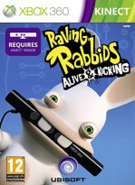 Xbox 360 Raving Rabbids Alive & Kicking