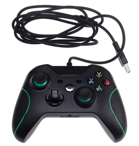 X-BOX Black Wired (HSY-008)