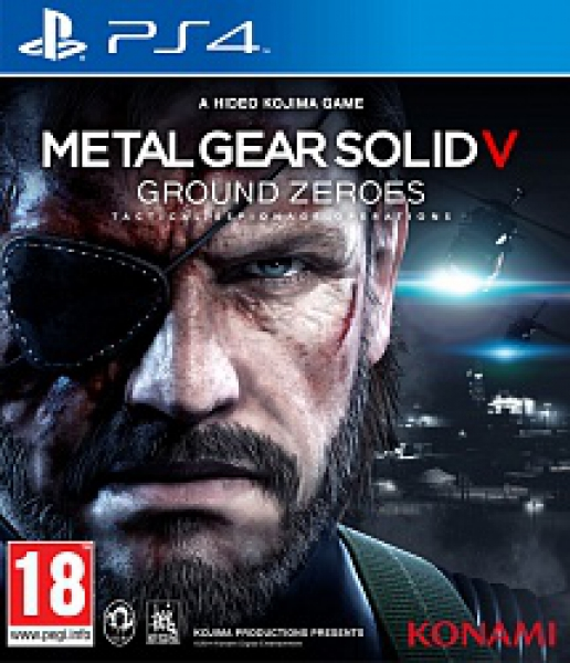Playstation 4 Metal Gear Solid V: Ground Zeroes