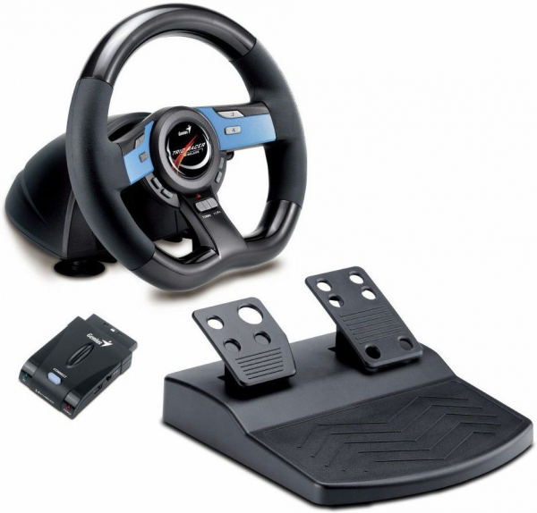 GENIUS Trio Racer Wireless Racing Wheel