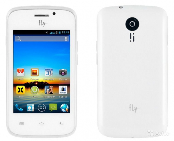 FLY IQ239 ERA NANO 2 WHITE (2 SIM)