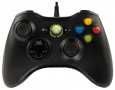 MICROSOFT X-BOX 360 Controller  Black Wired